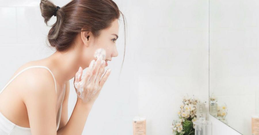 vệ sinh da mặt