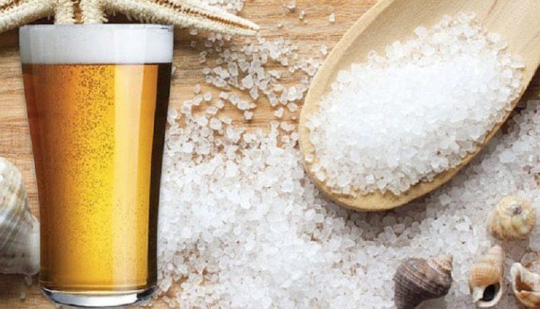 bia và muối