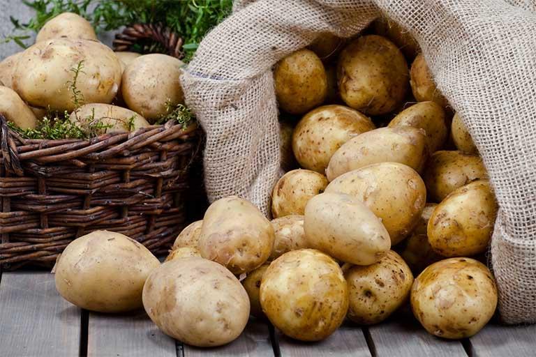 khoai tây làm trắng da
