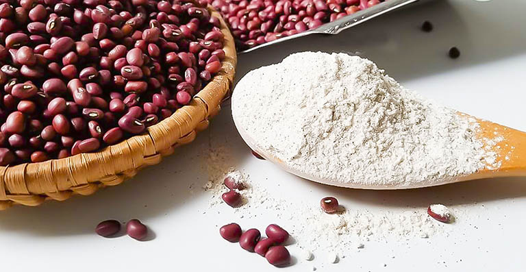 bột đậu đỏ dưỡng trắng da