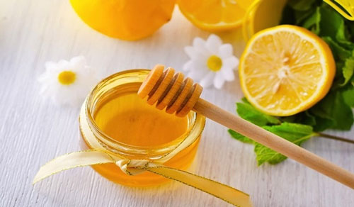 Mật ong và chanh