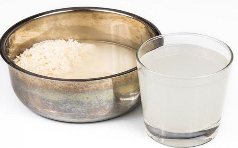 cách trị mụn bằng nước vo gạo - mặt nạ
