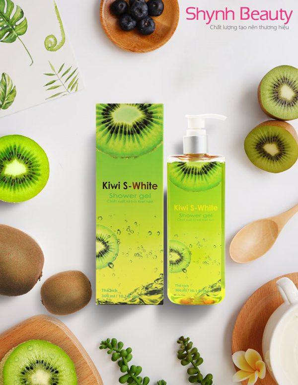 Sữa tắm Kiwi S-White