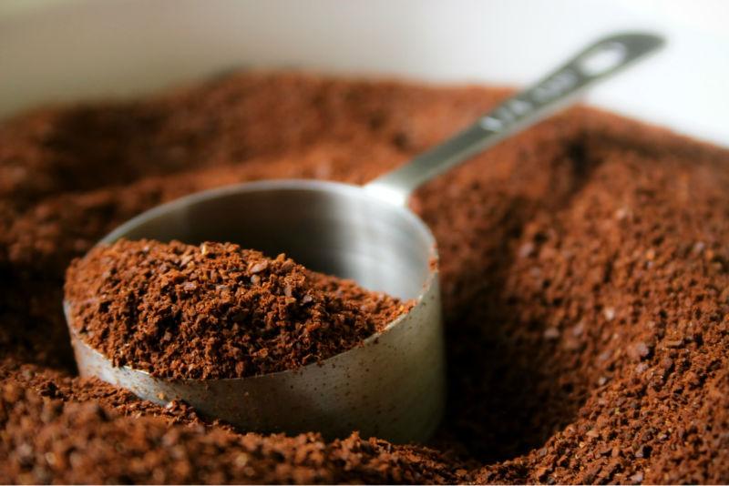 bã cà phê trị thâm