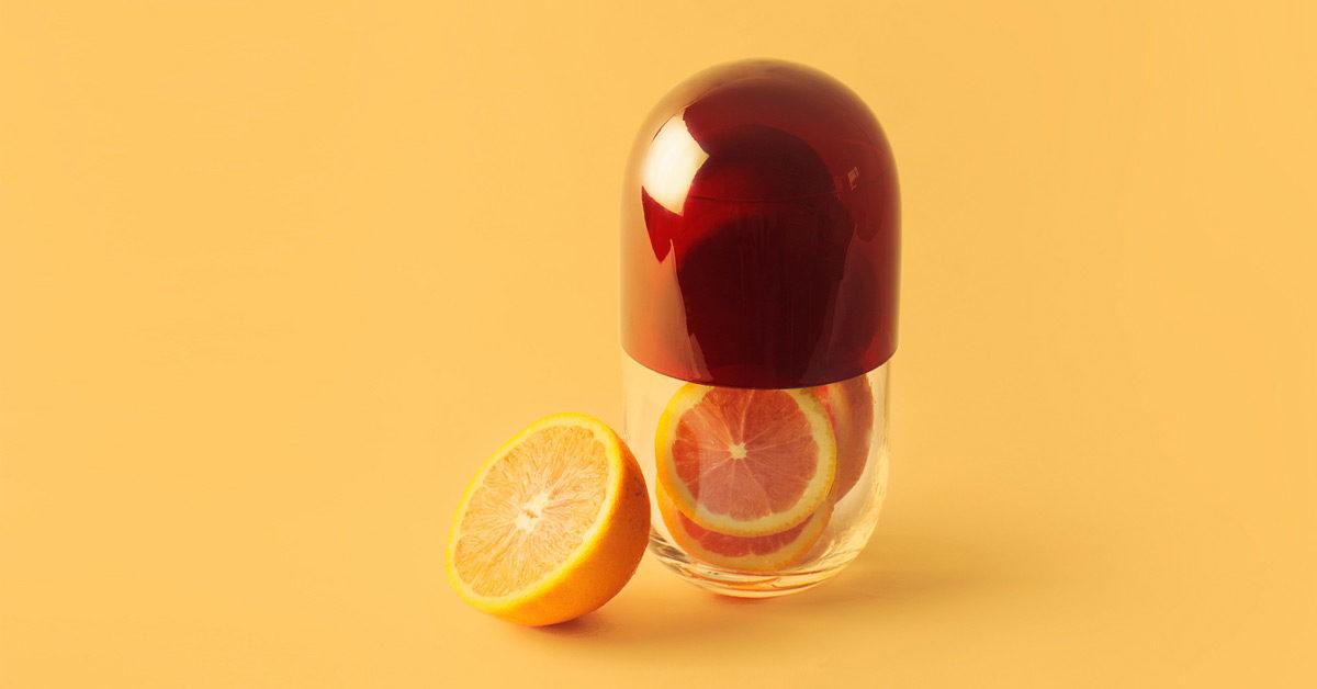 Cách trị thâm đỏ sau khi nặn mụn bằng vitamin C