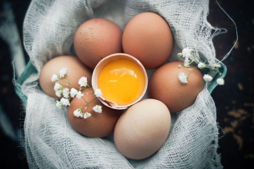 trứng gà có tác dụng chống lão hóa