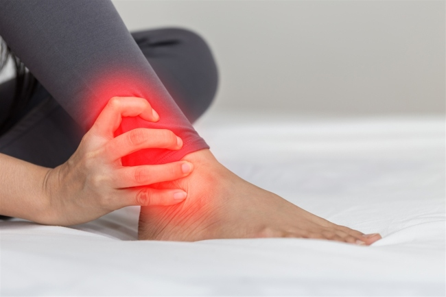 chữa đau mỏi chân