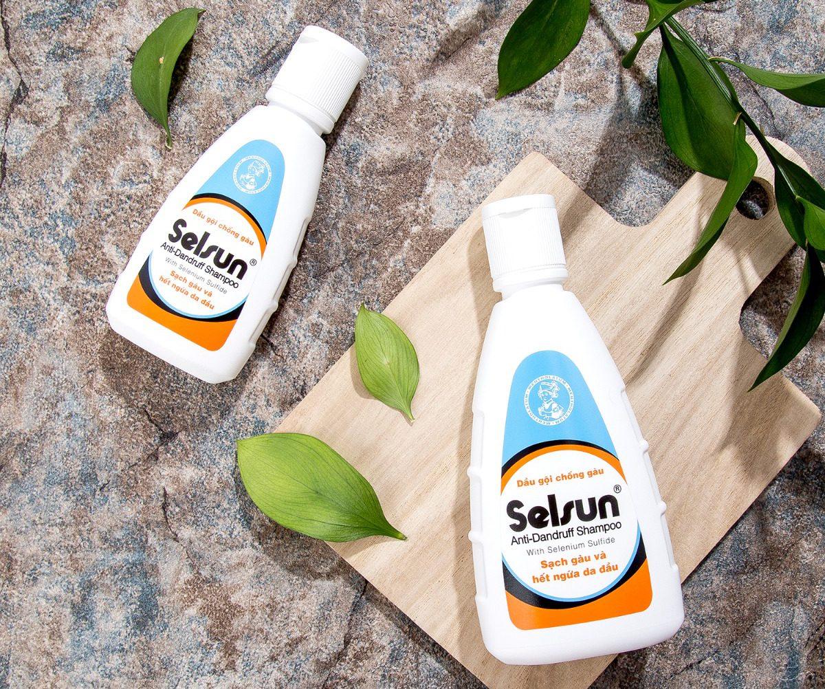 Dầu gội trị gàu mượt tóc Selsun
