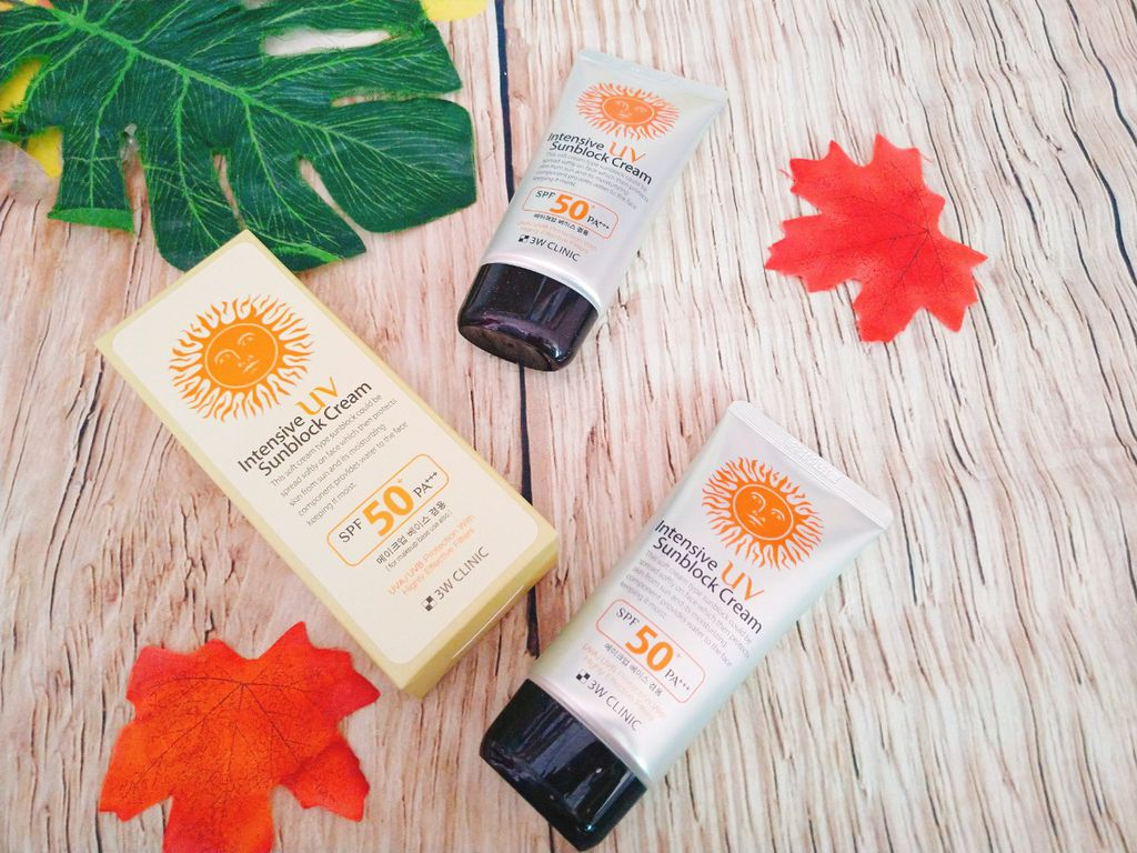 Chống nắng 3W Clinic Intensive UV Sunblock Cream