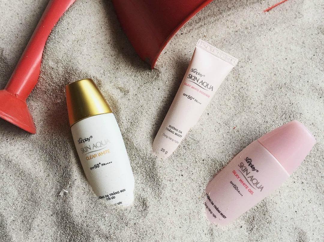 Sunplay Skin Aqua Silky White Gel