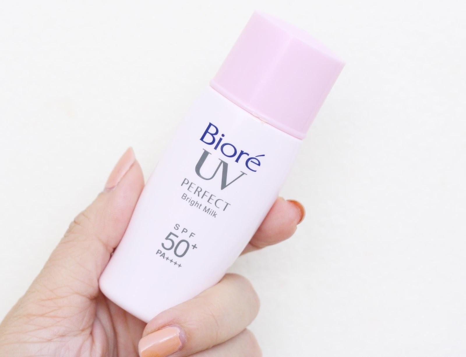 Kem chốnBiore UV Bright Face Milk