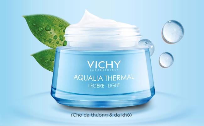 Kem dưỡng ẩm cho da dầu mụn Vichy