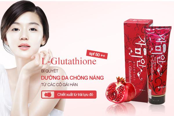 Kem dưỡng trắng da toàn thân L-Glutathione