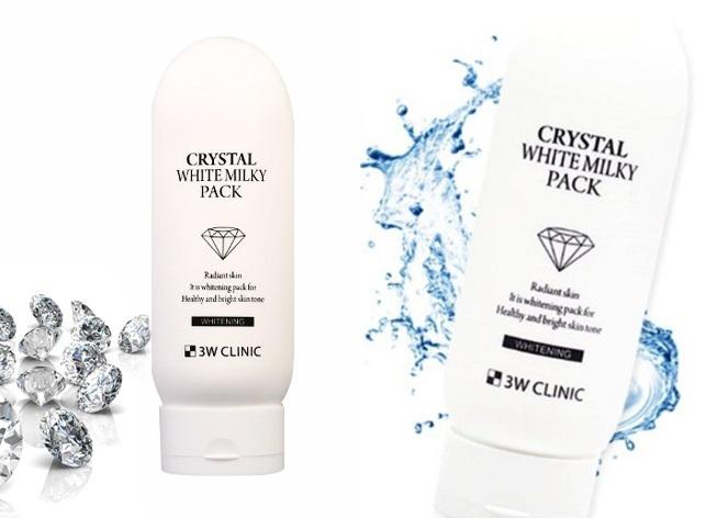 kem trắng da toàn thân Crystal White Milky