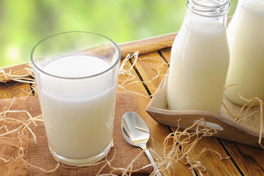 matxa mặt với sữa tươi