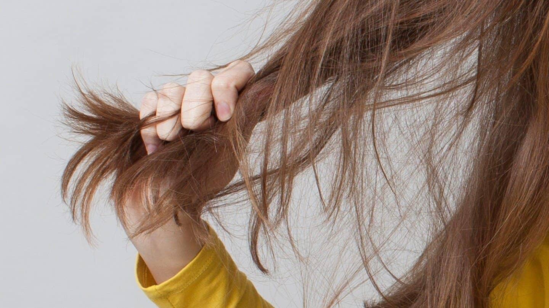 tóc khô xơ rối
