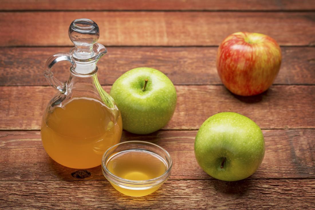 ngăn ngừa rụng tóc với rượu táo