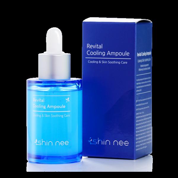 Serum cấp nước cho da dầu Revital Cooling Ampoule Shin Nee