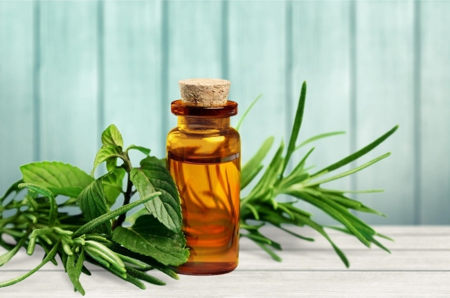 Serum chứa tinh dầu tràm trị mụn