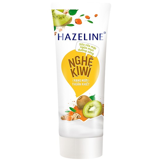Hazeline nghệ và kiwi