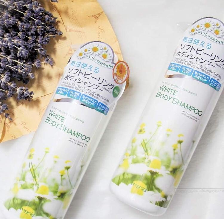 Manis White Body Shampoo (