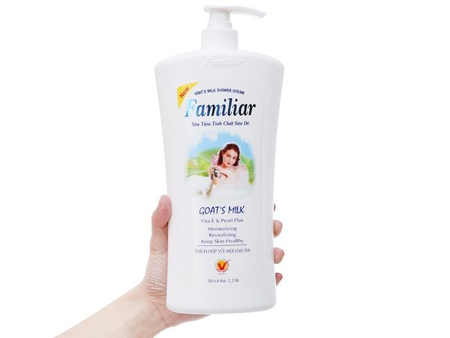 sữa tắm trắng da hương thơm dịu nhẹ