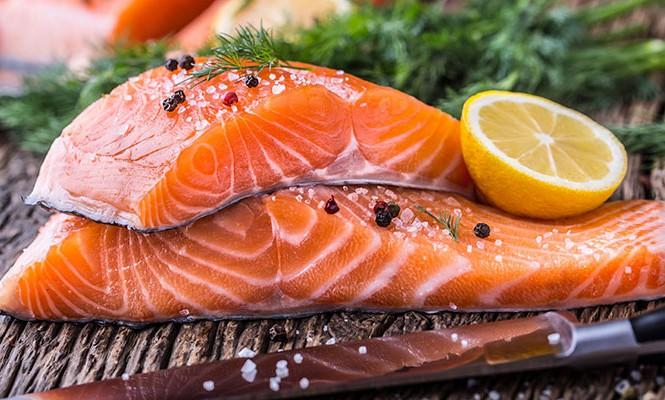 Thực phẩm trắng da - Cá