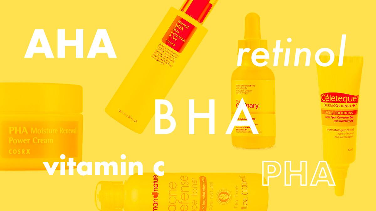 retinol và vitamin c